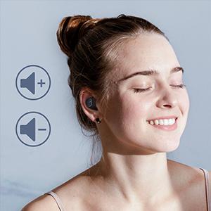 In Ear Bluetooth Kopfhörer Lautstärkeregelung