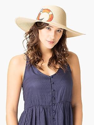 Strohhüte Damen Lipodo