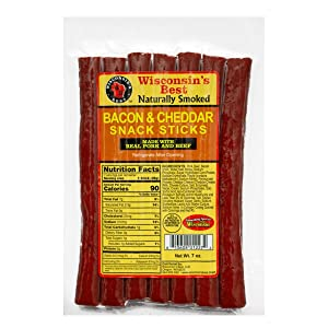 7oz. Value Pack Meat Snacks from Wisconsin's Best