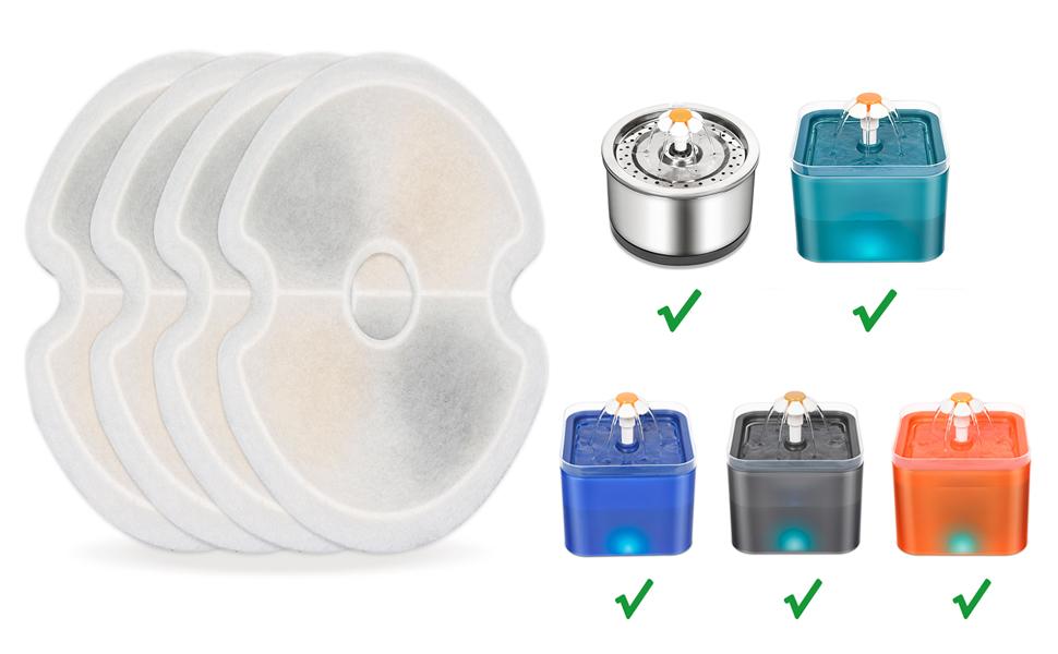 Fountain Filter 4