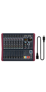 8-channel mixer