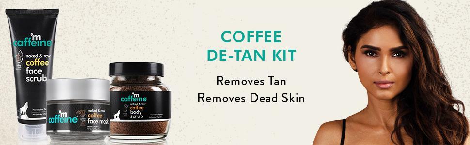 mCaffeine Coffee De-Tan Kit
