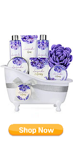 Lavender & Honey Bath and Body Gift Set