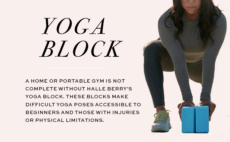 Yoga Block Product Layout