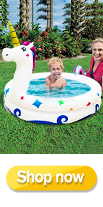 Inflatable Kiddie Pools for Toddler