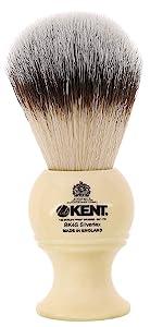 KENT BK4S Silvertex Shaving Brush