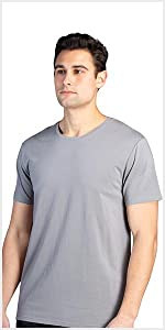 fishers finery mens crew neck tee modal undershirt multi pack mens tees