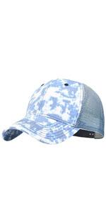 Tie Dye Trucker Hat Sports Baseball Cap