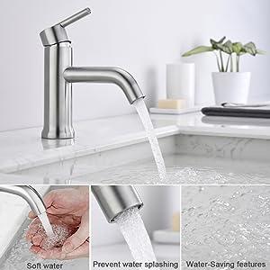 bathroom faucet 1 hole 1 handle