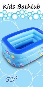 """51"""" kiddie pool"""