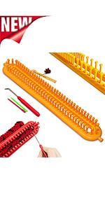 aiguilles tricotin long rectangulaire mécanique