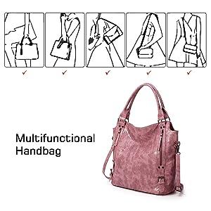 Practicla women hobo shoulder handbag