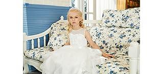 Kidikidi Baby Girl Dresses Pageant Party Wedding Flower Girl Dress Mesh
