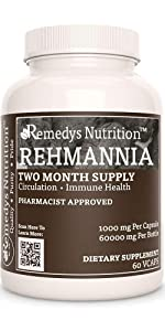 Remedy's Nutrition Rehmannia Root