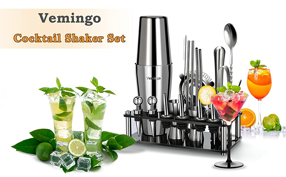 Vemingo Cocktail Shaker Set