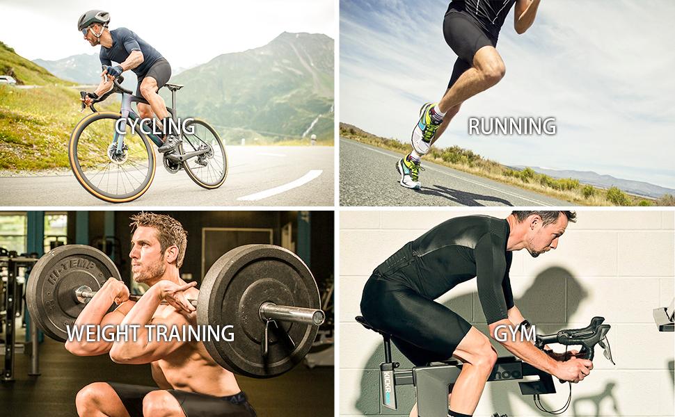 men's sports compression shorts