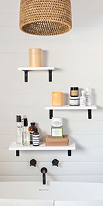 Wood Wide Floating Shelves for Wall