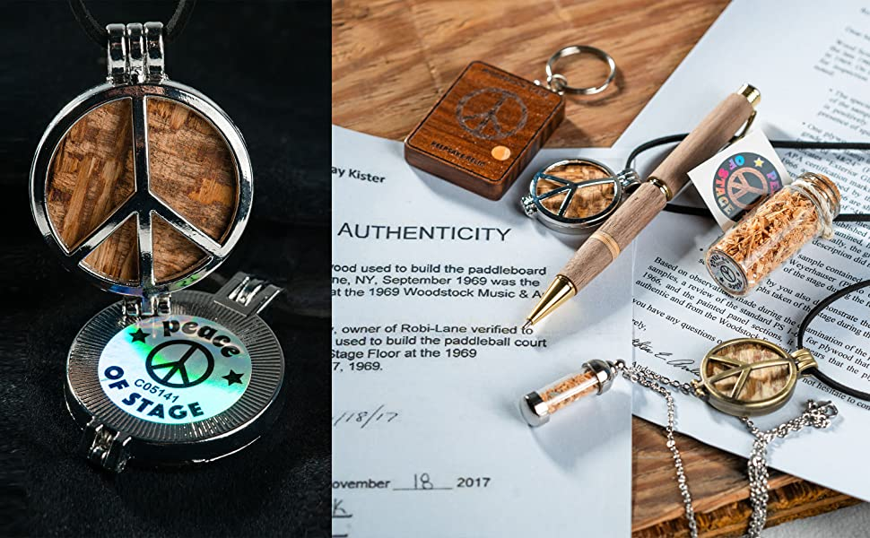 Every Pendant will include a tamper-proof hologram on the back, as well Letters of Authenticity.