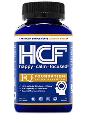 FQ Foundation Extra Strength brain formula boost attention concentration focus add adhd vitamins