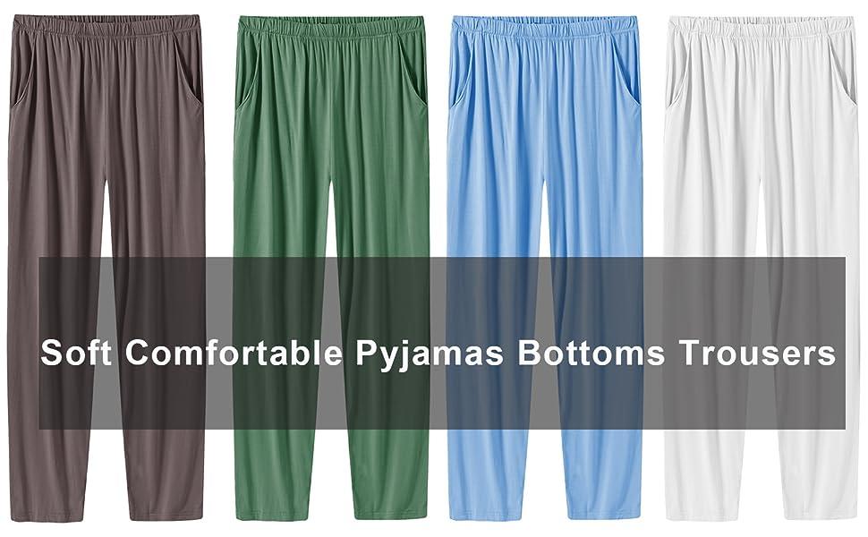 Men pyjama bottoms trousers