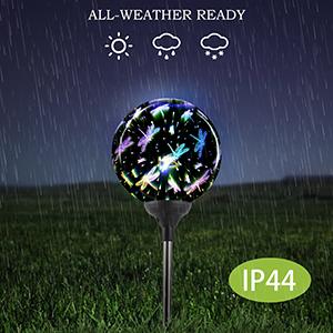 solar stake lights glass,solar dragonfly stakes,outdoor solar decorative lights,outdoor solarlights