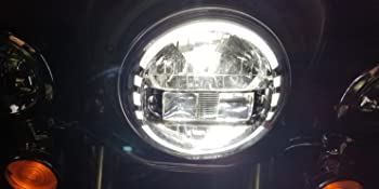 silver harley headlight kit