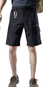 men shorts cargo work capri pants