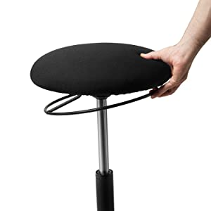seville classics airlift stool balance stools high quality desk accessory