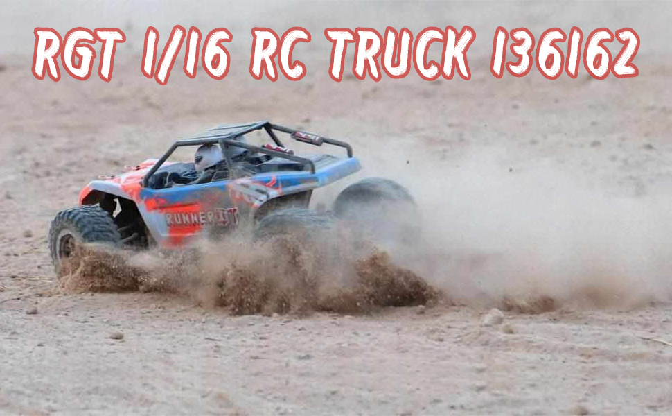 1:16 Scale Desert RC Truck 4wd Rock Crawler Solid Rear Axle Off Road Vehicle Toys