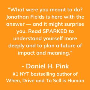Daniel Pink, NYT, Sparked, Jonathan Fields