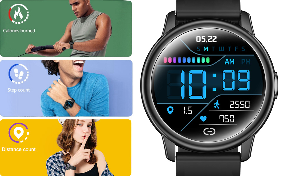 Smart Watch for Android and iOS Phones