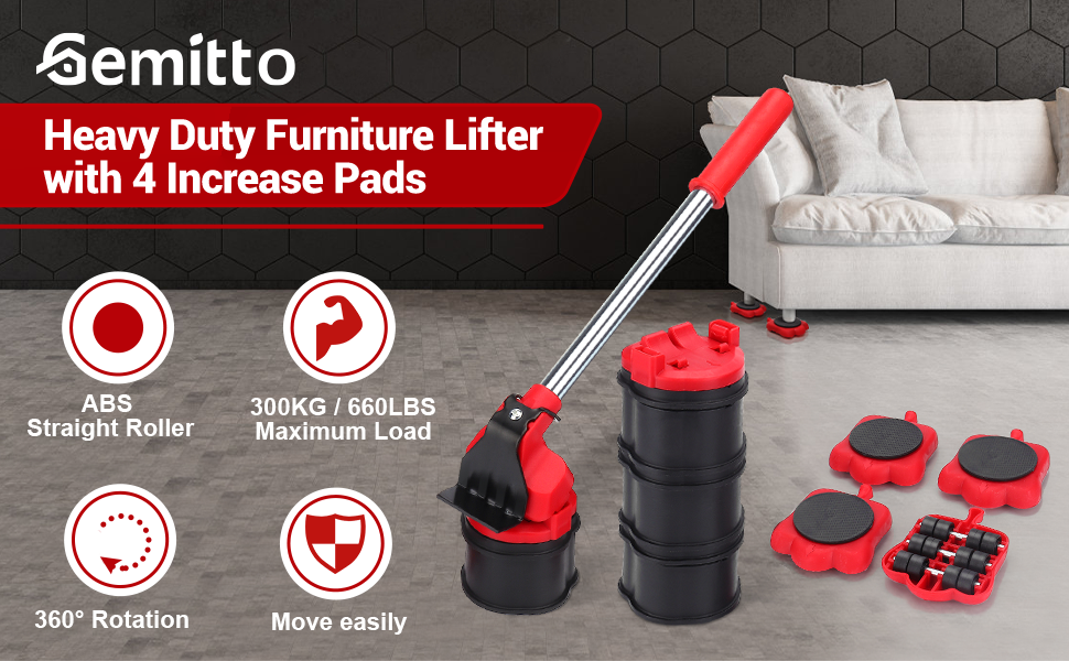 Furniture Mover Lifter Tool Set