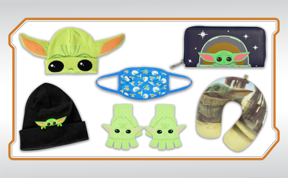Star Wars The Mandalorian officially licensed merchandise by concept one accessories