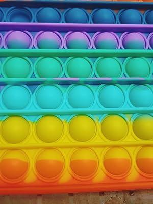 8 Inch 100 Bubbles Fidget Toy