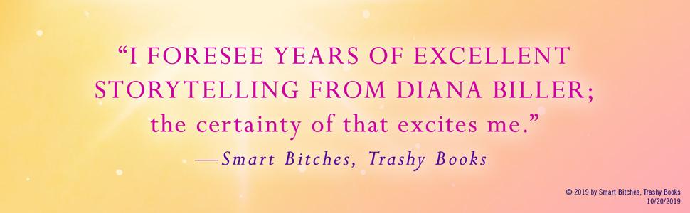 The Brightest Star in Paris Diana Biller Smart Britches Trashy Books quote
