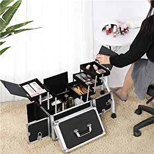 Makeup Trolley Case