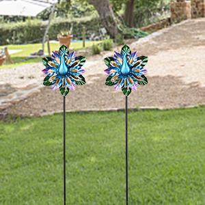 wind spinner wind spinners outdoor metal wind spinner  peacock wind spinners