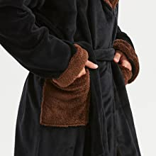 robe men fleece