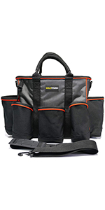 14 inch Supply bag Open Top Tote tool bag Tool Organizer bag
