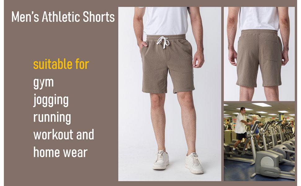 mens sweat short