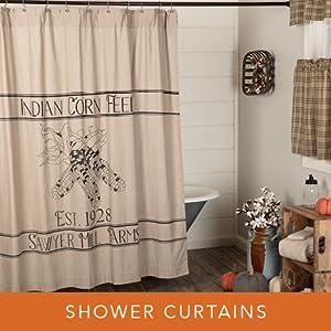 sawyer mill harvest shower curtains