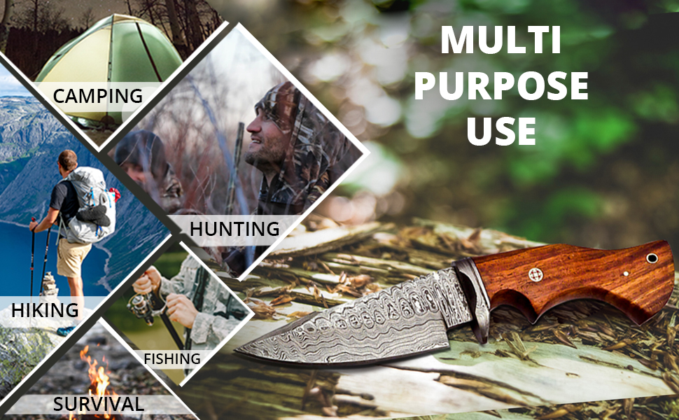 camping knife survival knife hiking knife fishing knife tactical knife