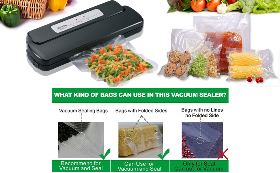 E2800-c vacuum sealing machine comes in handy for preserving a variety of foods