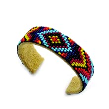 Image showing a colorful Beaded Bracelet