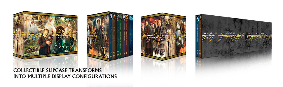 middle earth ultimate collector's edition slipcase packaging