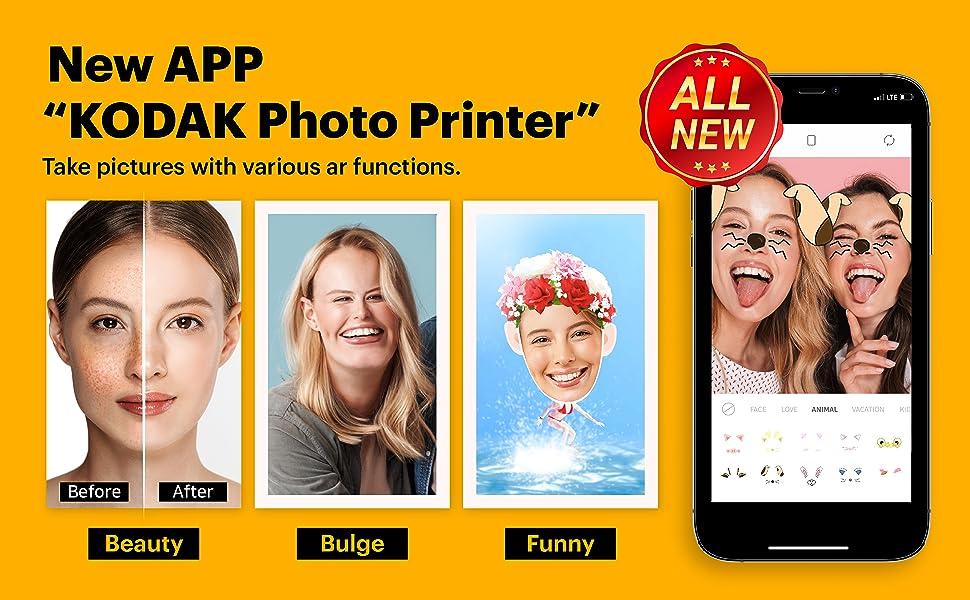 kodak mini shot photo printer camera c210r polaroid instant camera 4pass technology dye sublimation