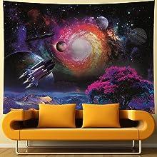 Galaxy tapestry