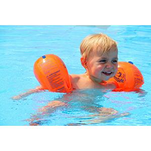 Pro Swim Flipper SwimSafe Schwimmen lernen Schwimmring Schwimmflügel Schwimmkissen Baby Kleinkind