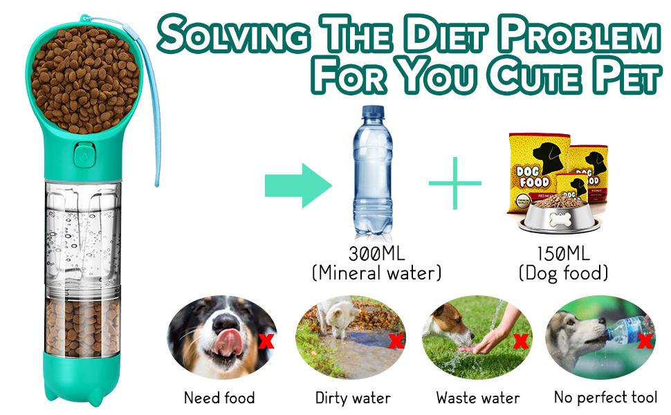 dog water bottle travel