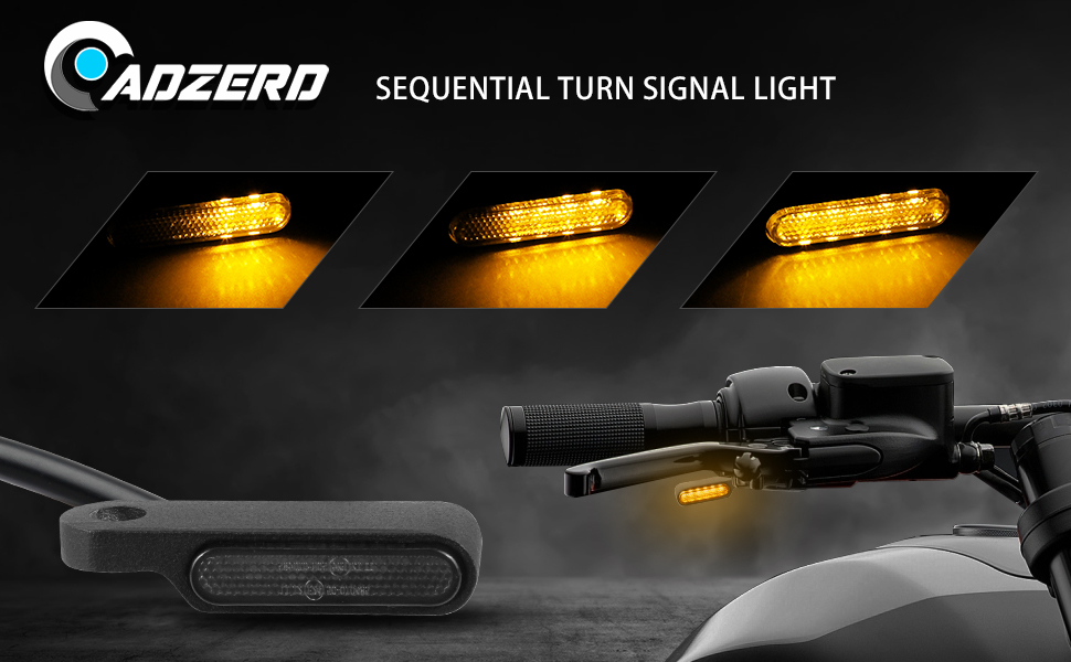 sequential turn signal light